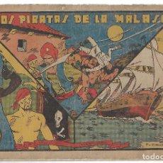 Tebeos: LOS PIRATAS DE LA MALASIA - ORIGINAL. Lote 166017982