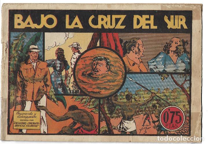 BAJO LA CRUZ DEL SUR - ORIGINAL (Tebeos y Comics - Valenciana - Selección Aventurera)