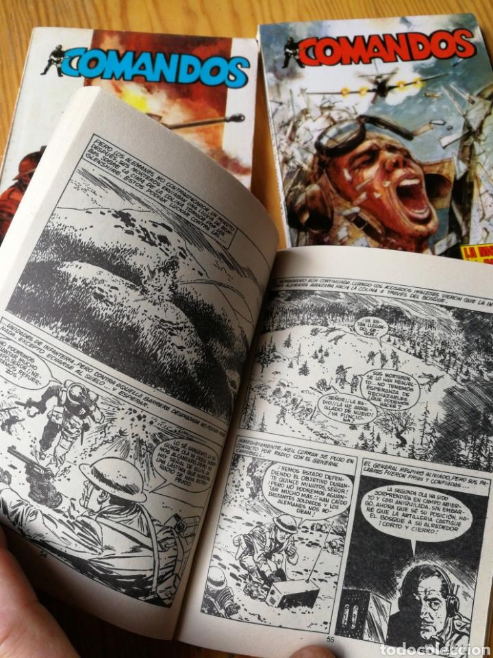 Tebeos: LOTE COMANDOS (NOVELAS BÉLICAS) N°1-2-3-4. EDITORA VALENCIANA, 1981.DIFÍCIL!. - Foto 3 - 166190262