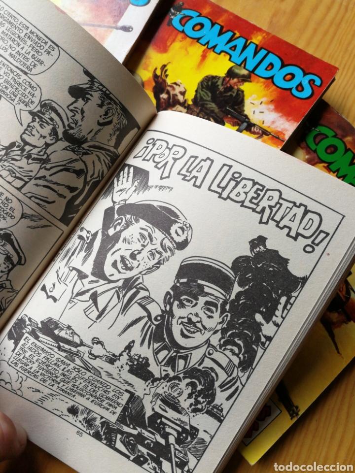 Tebeos: LOTE COMANDOS (NOVELAS BÉLICAS) N°1-2-3-4. EDITORA VALENCIANA, 1981.DIFÍCIL!. - Foto 7 - 166190262