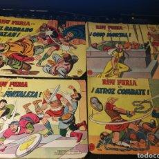 Tebeos: REY FURIA. LOTE DE 13 TEBEOS. EDITORIAL VALENCIANA. 1961. Lote 166201314