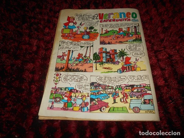 Tebeos: PUMBY ALBUM VERANO (Valenciana 1969) BUEN ESTADO - Foto 6 - 166338946