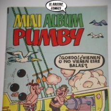Tebeos: PUMBY MINI ALBUM Nº 16, ED. VALENCIANA, ORIGINAL. Lote 166580502