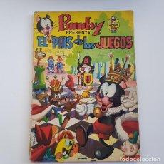 Tebeos: LIBROS ILUSTRADOS PUMBY Nº 3, EL PAÍS DE LOS JUEGOS, ED. VALENCIANA, AÑO 1968,LEER DESCRIPCIÓN. Lote 166628474