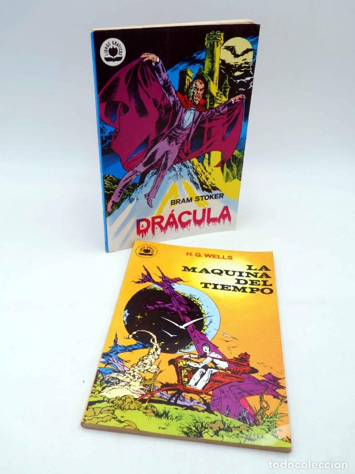 LIBROS GRÁFICOS 1,2. DRÁCULA Y LA MÁQUINA DEL TIEMPO (N.REDONDO / A. NIÑO) EDIPRINT, 1982. OFRT (Tebeos y Comics - Valenciana - Otros)