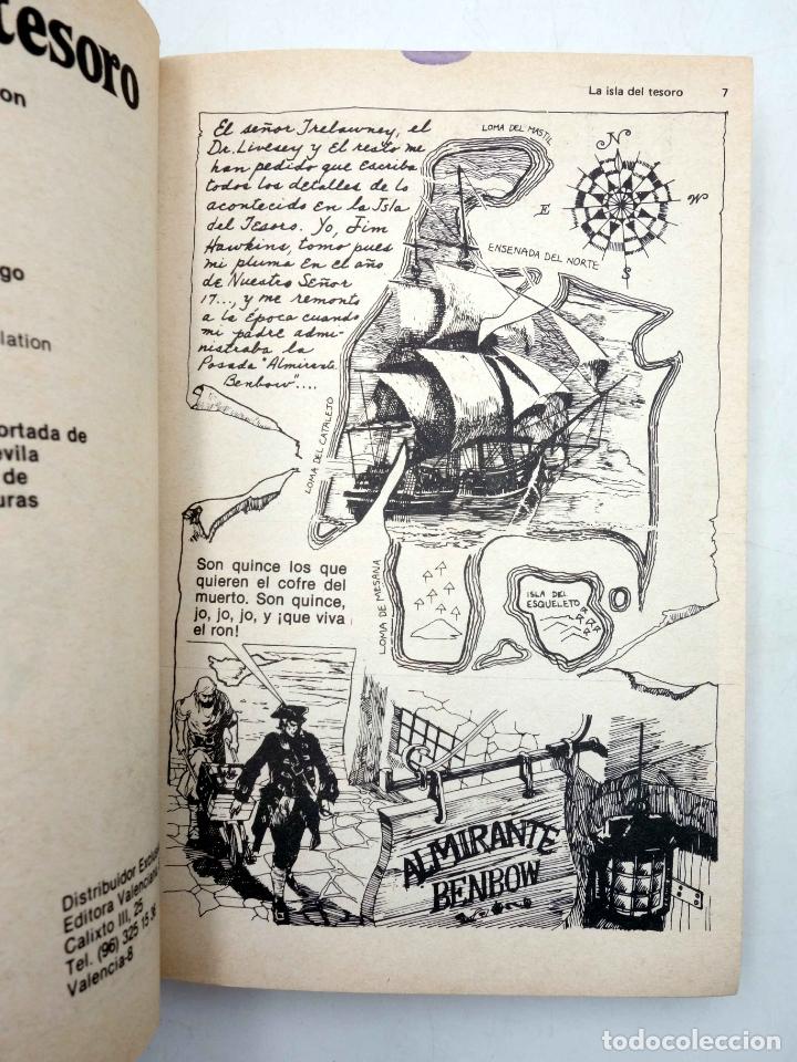 Tebeos: LIBROS GRÁFICOS 1. LA ISLA DEL TESORO, DRÁCULA, LA MÁQUINA DEL TIEMPO (A. Niño) Ediprint, 1982. OFRT - Foto 3 - 186281906