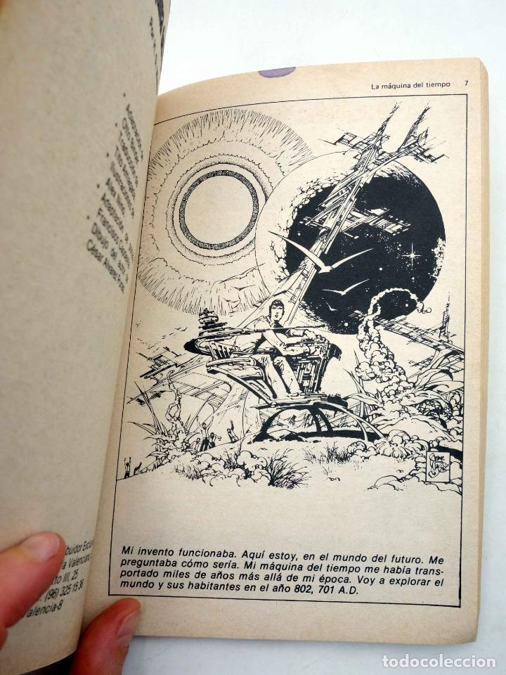 Tebeos: LIBROS GRÁFICOS 1. LA ISLA DEL TESORO, DRÁCULA, LA MÁQUINA DEL TIEMPO (A. Niño) Ediprint, 1982. OFRT - Foto 5 - 186281906