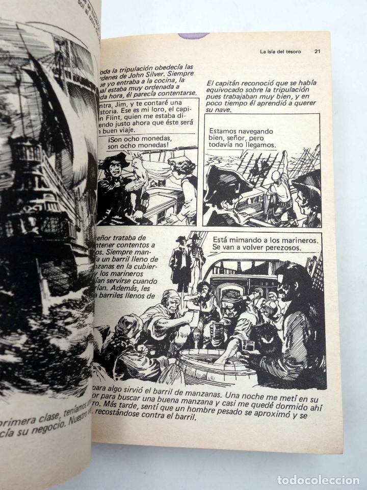 Tebeos: LIBROS GRÁFICOS 1. LA ISLA DEL TESORO, DRÁCULA, LA MÁQUINA DEL TIEMPO (A. Niño) Ediprint, 1982. OFRT - Foto 8 - 186281906