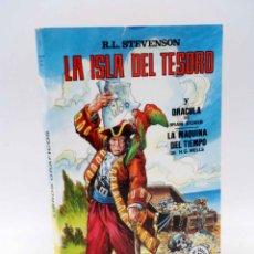 Tebeos: LIBROS GRÁFICOS 1. LA ISLA DEL TESORO, DRÁCULA, LA MÁQUINA DEL TIEMPO (A. NIÑO) EDIPRINT, 1982. OFRT. Lote 186281906