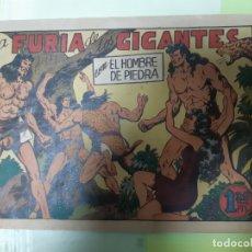 Livros de Banda Desenhada: TEBEOS-COMICS CANDY - HOMBRE DE PIEDRA - Nº 3 - VALENCIANA 1950 - ORIGINAL *AA98 . Lote 167196212