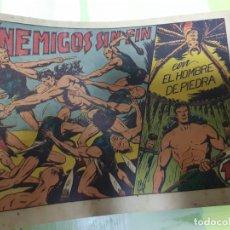Livros de Banda Desenhada: TEBEOS-COMICS CANDY - HOMBRE DE PIEDRA - Nº 9 - VALENCIANA 1950 - ORIGINAL *AA98 . Lote 167196572