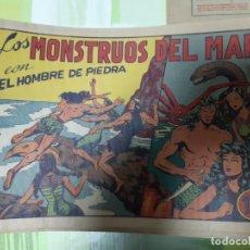 Tebeos: TEBEOS-COMICS CANDY - HOMBRE DE PIEDRA - Nº 11 - VALENCIANA 1950 - ORIGINAL *AA98 . Lote 167196836
