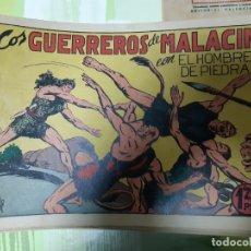 Tebeos: TEBEOS-COMICS CANDY - HOMBRE DE PIEDRA - Nº 15 - VALENCIANA 1950 - ORIGINAL *AA98 . Lote 167197284