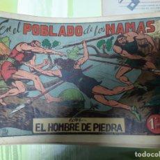 Tebeos: TEBEOS-COMICS CANDY - HOMBRE DE PIEDRA - Nº 16 - VALENCIANA 1950 - ORIGINAL *AA98 . Lote 167197820