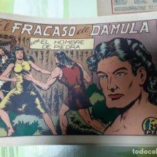 Tebeos: TEBEOS-COMICS CANDY - HOMBRE DE PIEDRA - Nº 18 - VALENCIANA 1950 - ORIGINAL *AA98 . Lote 167200076
