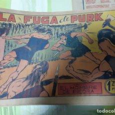 Tebeos: TEBEOS-COMICS CANDY - HOMBRE DE PIEDRA - Nº 19 - VALENCIANA 1950 - ORIGINAL *AA98 . Lote 167200936