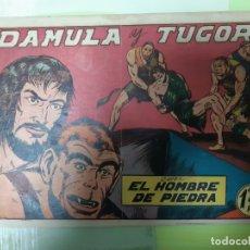 Tebeos: TEBEOS-COMICS CANDY - HOMBRE DE PIEDRA - Nº 23 - VALENCIANA 1950 - ORIGINAL *AA98 . Lote 167204208