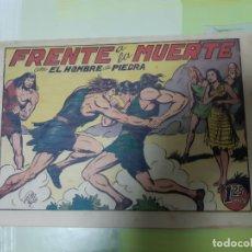 Tebeos: TEBEOS-COMICS CANDY - HOMBRE DE PIEDRA - Nº 24 - VALENCIANA 1950 - ORIGINAL *AA98 . Lote 167206572