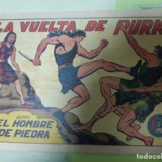 Tebeos: TEBEOS-COMICS CANDY - HOMBRE DE PIEDRA - Nº 25 - VALENCIANA 1950 - ORIGINAL *AA98. Lote 167207516