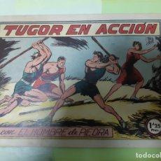 Tebeos: TEBEOS-COMICS CANDY - HOMBRE DE PIEDRA - Nº 27 - VALENCIANA 1950 - ORIGINAL *AA98 . Lote 167215152