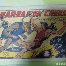 Tebeos: TEBEOS-COMICS CANDY - HOMBRE DE PIEDRA - Nº 31 - VALENCIANA 1950 - ORIGINAL *AA98 . Lote 167217128