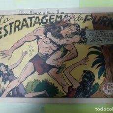 Tebeos: TEBEOS-COMICS CANDY - HOMBRE DE PIEDRA - Nº 37 - VALENCIANA 1950 - ORIGINAL *AA98 . Lote 167219084