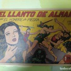 Tebeos: TEBEOS-COMICS CANDY - HOMBRE DE PIEDRA - Nº 46 - VALENCIANA 1950 - ORIGINAL *AA98 . Lote 167222592