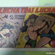 Tebeos: TEBEOS-COMICS CANDY - HOMBRE DE PIEDRA - Nº 56 - VALENCIANA 1950 - ORIGINAL *AA98 . Lote 167224744