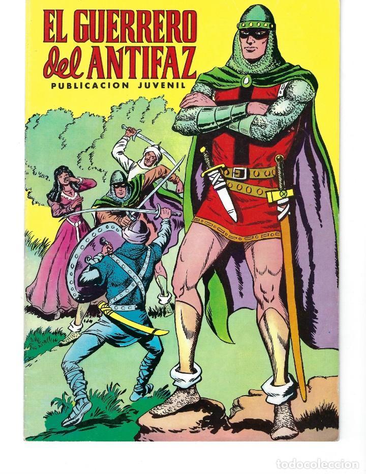 EL GUERRERO DEL ANTIFAZ: DESDE 1972 HASTA 1976* LOTE 244 NÚMEROS Y 2 EXTRAORDINARIOS DE VACACIONES* (Tebeos y Comics - Valenciana - Guerrero del Antifaz)