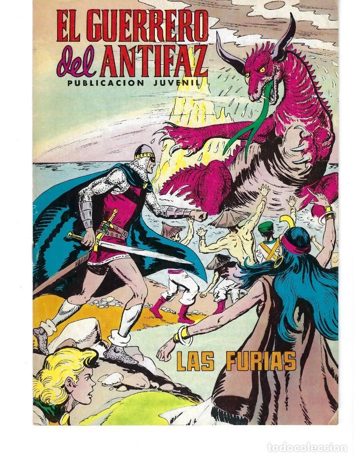 Tebeos: EL GUERRERO DEL ANTIFAZ: DESDE 1972 HASTA 1976* LOTE 244 NÚMEROS Y 2 EXTRAORDINARIOS DE VACACIONES* - Foto 5 - 167226444
