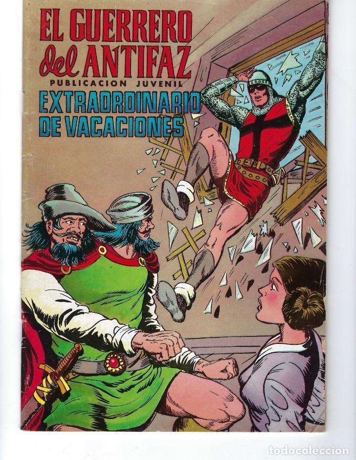 Tebeos: EL GUERRERO DEL ANTIFAZ: DESDE 1972 HASTA 1976* LOTE 244 NÚMEROS Y 2 EXTRAORDINARIOS DE VACACIONES* - Foto 6 - 167226444