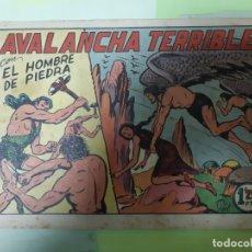 Tebeos: TEBEOS-COMICS CANDY - HOMBRE DE PIEDRA - Nº 57 - VALENCIANA 1950 - ORIGINAL *AA98 . Lote 167227648