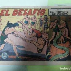 Tebeos: TEBEOS-COMICS CANDY - HOMBRE DE PIEDRA - Nº 75 - VALENCIANA 1950 - ORIGINAL * UU99. Lote 167231128