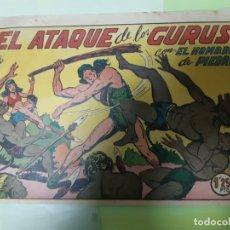 Tebeos: TEBEOS-COMICS CANDY - HOMBRE DE PIEDRA - Nº 88 - VALENCIANA 1950 - ORIGINAL * XX99. Lote 167234152