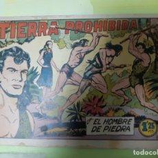 Tebeos: TEBEOS-COMICS CANDY - HOMBRE DE PIEDRA - Nº 96 - VALENCIANA 1950 - ORIGINAL * XX99. Lote 167249504