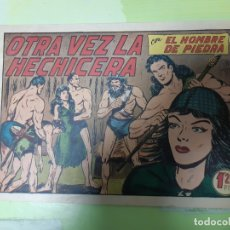 Tebeos: TEBEOS-COMICS CANDY - HOMBRE DE PIEDRA - Nº 107 - VALENCIANA 1950 - ORIGINAL * UU99. Lote 167250960