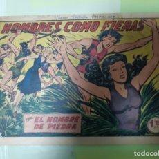 Tebeos: TEBEOS-COMICS CANDY - HOMBRE DE PIEDRA - Nº 110 - VALENCIANA 1950 - ORIGINAL * UU99. Lote 167253608