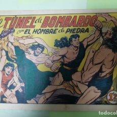 Tebeos: TEBEOS-COMICS CANDY - HOMBRE DE PIEDRA - Nº 115 - VALENCIANA 1950 - ORIGINAL *AA98. Lote 167254756