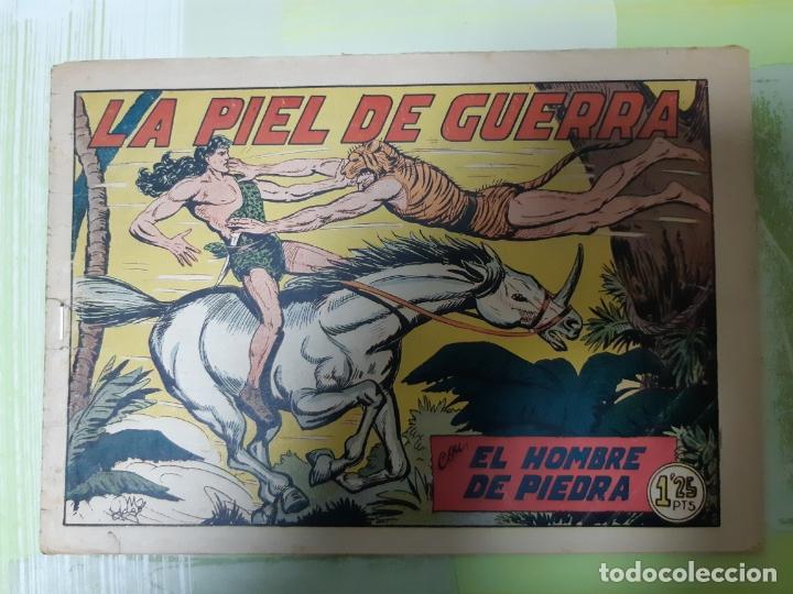 TEBEOS-COMICS CANDY - HOMBRE DE PIEDRA - Nº 119 - VALENCIANA 1950 - ORIGINAL * UU99 (Tebeos y Comics - Valenciana - Purk, el Hombre de Piedra)