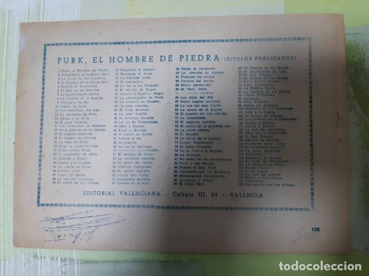 Tebeos: TEBEOS-COMICS CANDY - HOMBRE DE PIEDRA - Nº 126 - VALENCIANA 1950 - ORIGINAL * UU99 - Foto 2 - 167258448