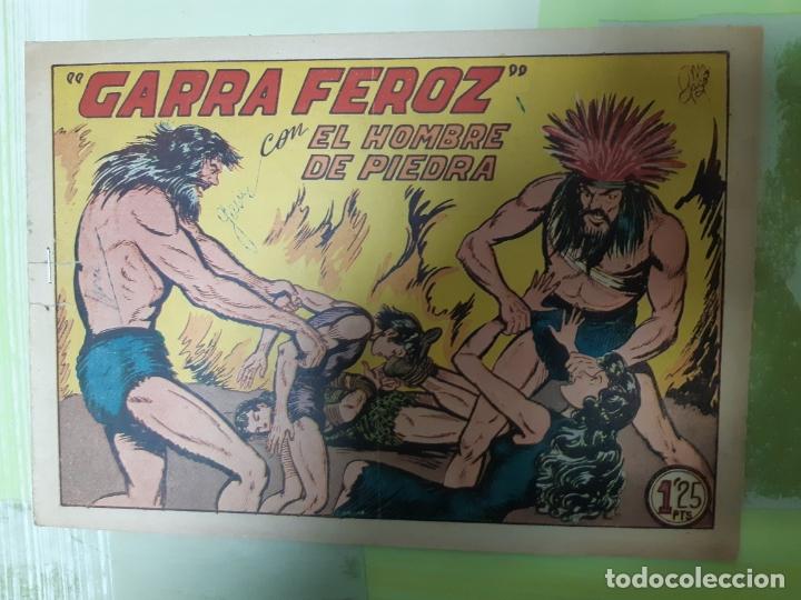TEBEOS-COMICS CANDY - HOMBRE DE PIEDRA - Nº 126 - VALENCIANA 1950 - ORIGINAL * UU99 (Tebeos y Comics - Valenciana - Purk, el Hombre de Piedra)