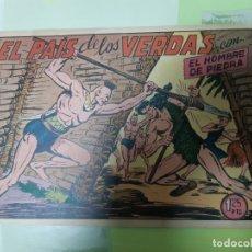 Tebeos: TEBEOS-COMICS CANDY - HOMBRE DE PIEDRA - Nº 128 - VALENCIANA 1950 - ORIGINAL *AA98. Lote 167264724