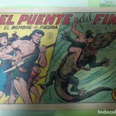 Tebeos: TEBEOS-COMICS CANDY - HOMBRE DE PIEDRA - Nº 137 - VALENCIANA 1950 - ORIGINAL *AA98. Lote 167270080