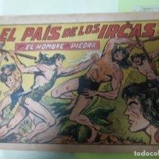 Tebeos: TEBEOS-COMICS CANDY - HOMBRE DE PIEDRA - Nº 154 - VALENCIANA 1950 - ORIGINAL *AA98. Lote 167277548
