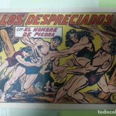 Tebeos: TEBEOS-COMICS CANDY - HOMBRE DE PIEDRA - Nº 158 - VALENCIANA 1950 - ORIGINAL *AA98. Lote 167278180
