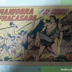 Tebeos: TEBEOS-COMICS CANDY - HOMBRE DE PIEDRA - Nº 165 - VALENCIANA 1950 - ORIGINAL * UU99. Lote 167281316