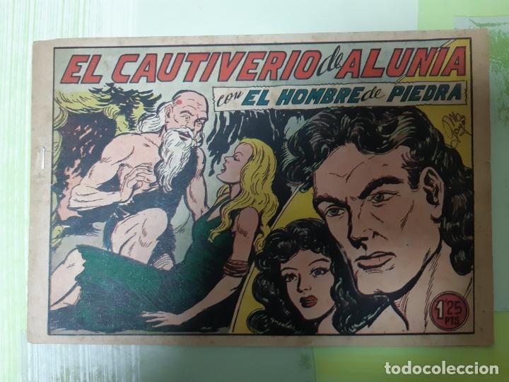 TEBEOS-COMICS CANDY - HOMBRE DE PIEDRA - Nº 175 - VALENCIANA 1950 - ORIGINAL * UU99 (Tebeos y Comics - Valenciana - Purk, el Hombre de Piedra)