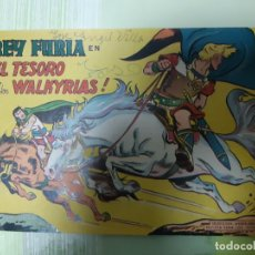 Tebeos: TEBEOS-COMICS CANDY - REY FURIA - Nº 6 - VALENCIANA 1961 - ORIGINAL *AA98. Lote 167288804