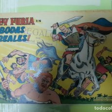 Tebeos: TEBEOS-COMICS CANDY - REY FURIA - Nº 7 - VALENCIANA 1961 - ORIGINAL * UU99. Lote 167289716