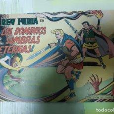 Tebeos: TEBEOS-COMICS CANDY - REY FURIA - Nº 11 - VALENCIANA 1961 - ORIGINAL * UU99. Lote 167290568